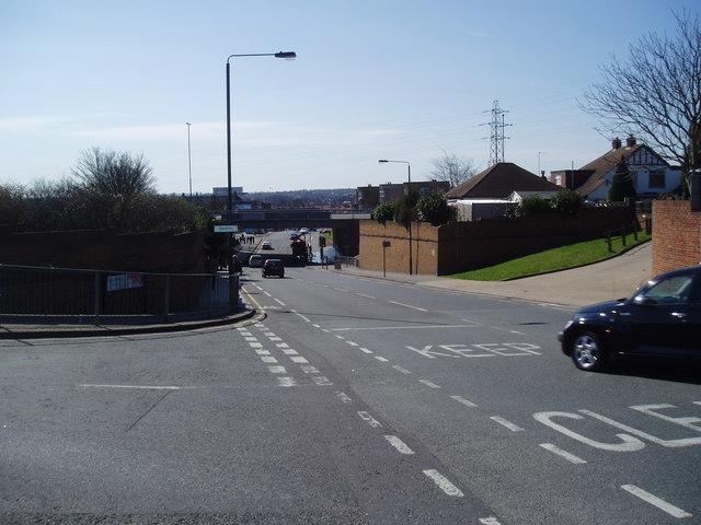 A2 Flyover over Westwood Lane, Blackfen, Kent