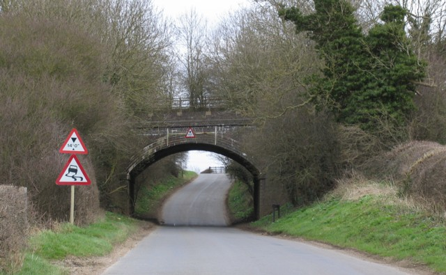 Railway bridge Station Road Gt Dalby