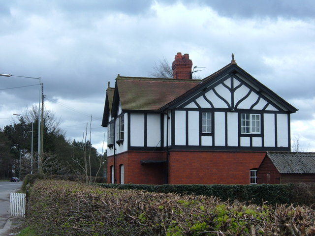 Mock Tudor semi, Tabley, Cheshire