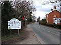 SJ6976 : B5391, Higher Wincham, Cheshire by michael ely