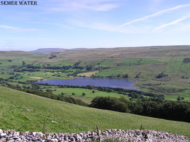 Semer Water : from Mire Crag.