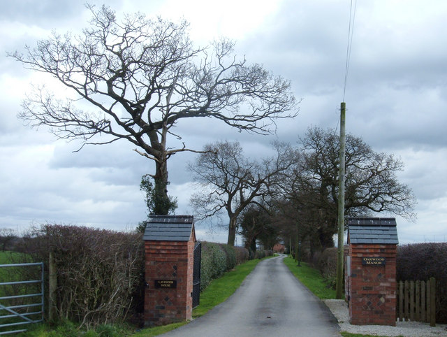 Entrance to what used to be Kays Farm