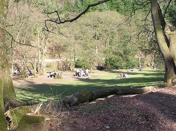 Ramscombe picnic area