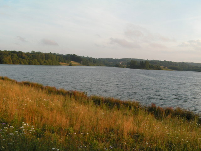Looking across Bewl Water