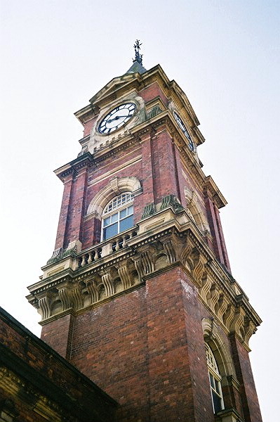 Bank Top Station Clock Tower.
