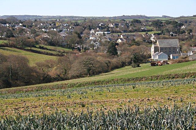 Perranwell Village