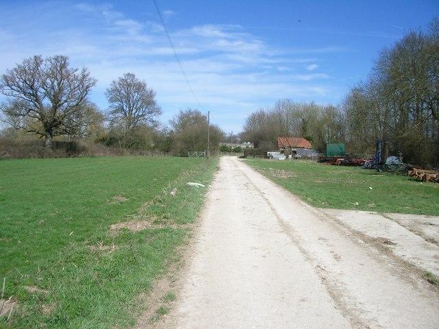 Bridleway near Herons Head Farm