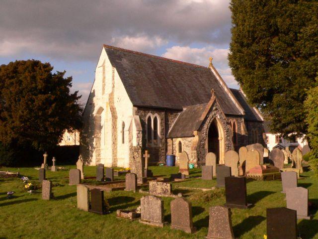 St. Gwrthwl's Parish Church, Llanwrthwl.