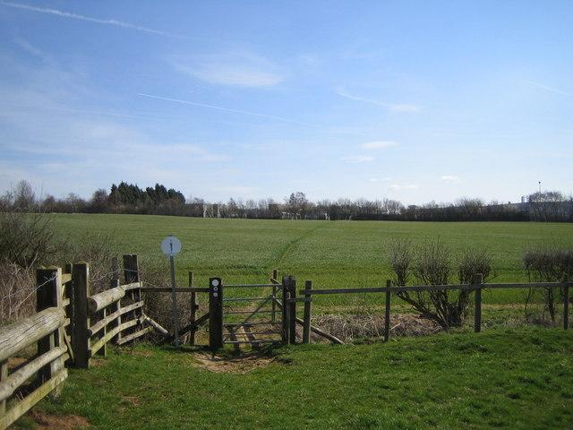 Knightley Way near Caswell