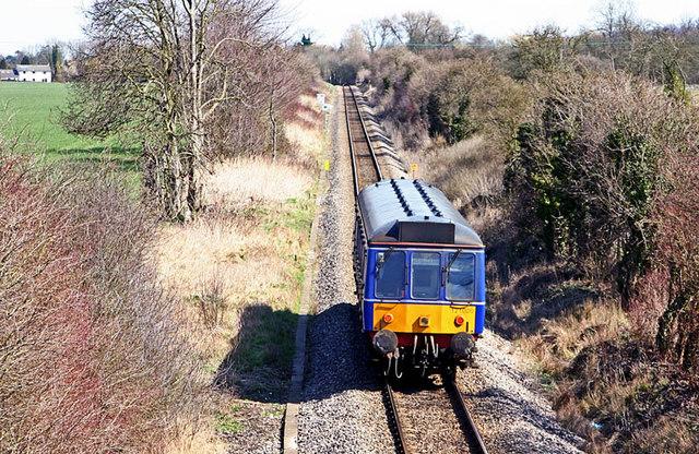 Princes Risborough to Aylesbury Railway line