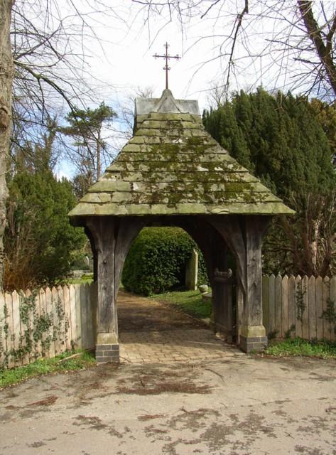 Lychgate to Sherborne St John Church