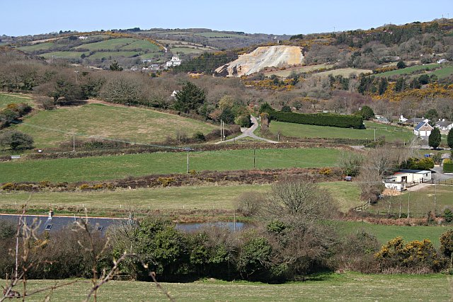 Carnon River Valley at Point Mills