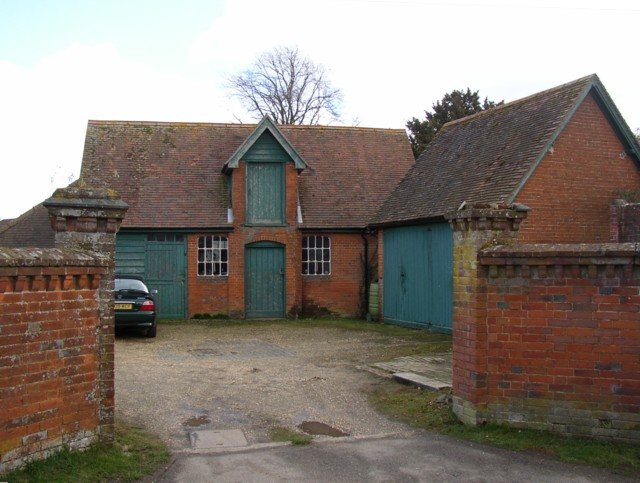Coach house and stables, Sherborne St John