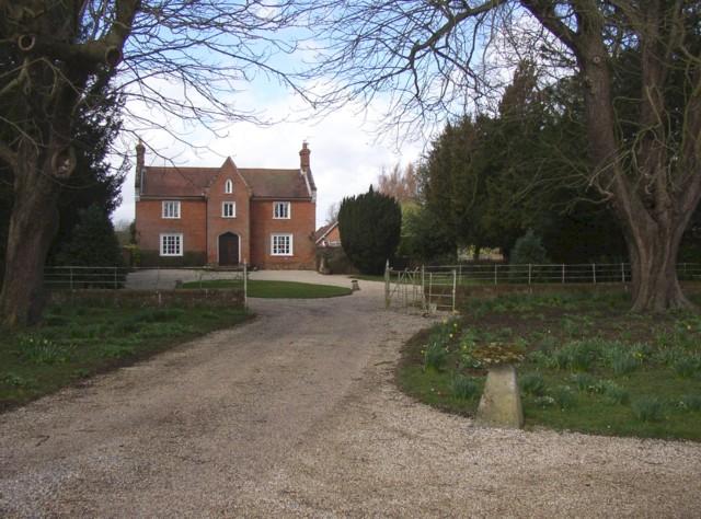 House near to the church, Sherborne St John
