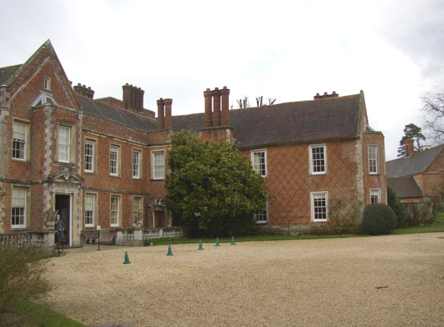 The east front of The Vyne, Sherborne St John