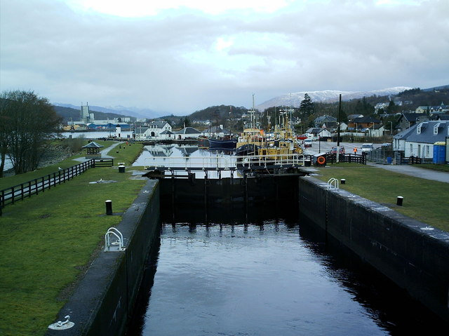 Corpach Sea Lock Gates