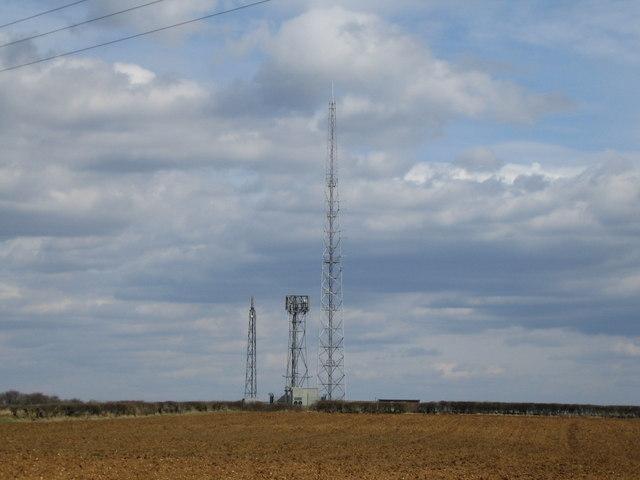 """Wireless Station"" north of Potcote Farm"