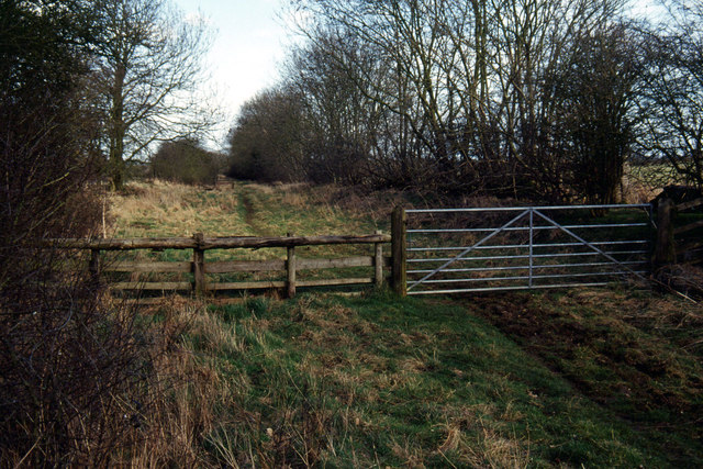 Dismantled railway west of Lubenham