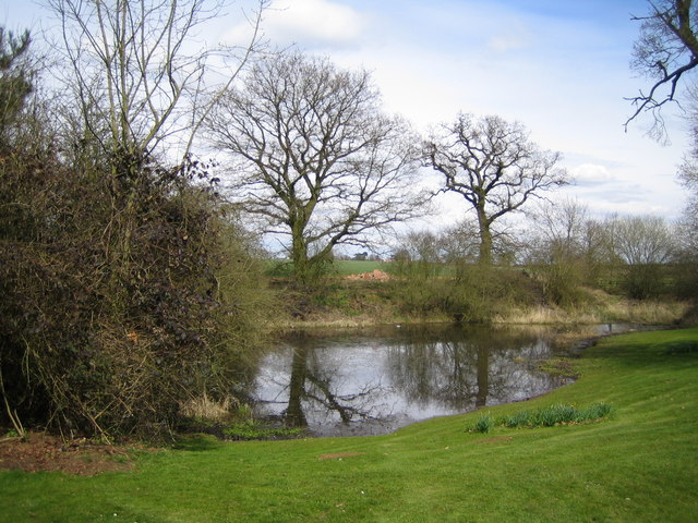 Pond at Potcote