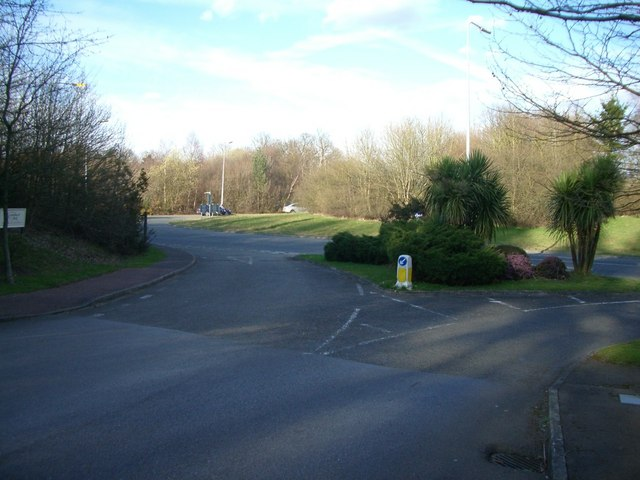 Clark's Green roundabout