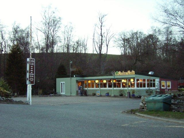Cedar Cafe.
