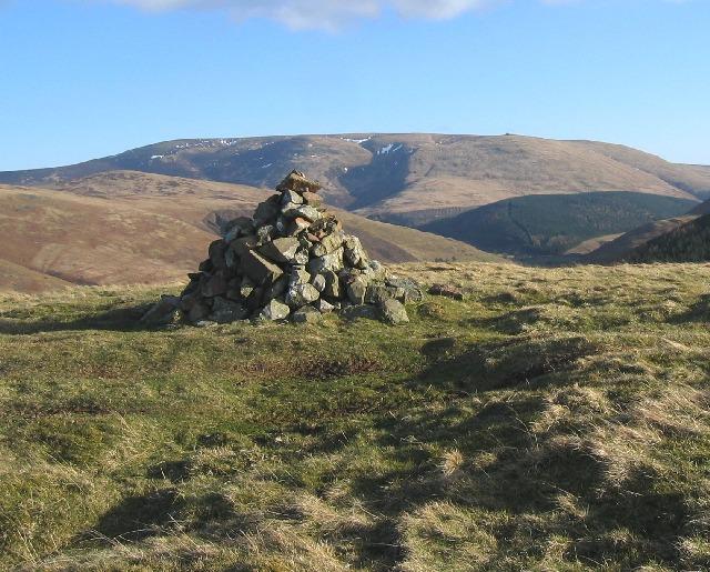 Summit cairn of Great Hetha