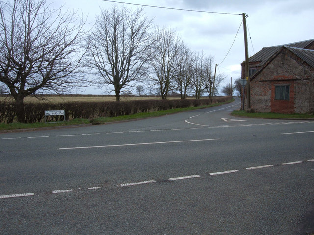 Road junction A559