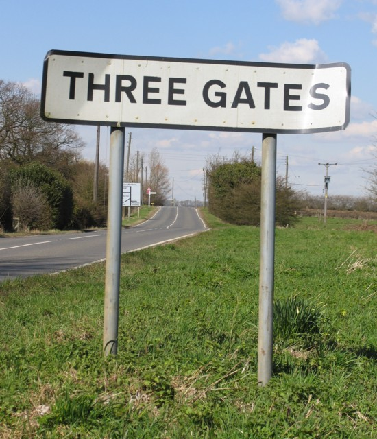 Approaching Three Gates