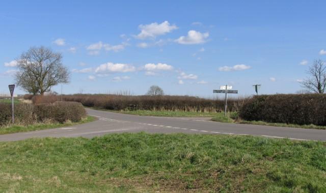 Crossroads on Kibworth Road