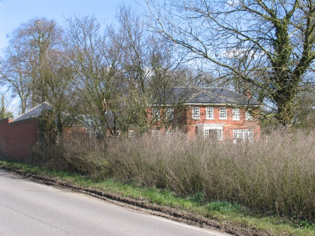 Belville House near to Kibworth Hall