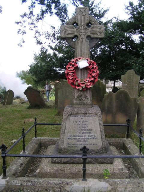 War Memorial at Covenham St. Bartholomew