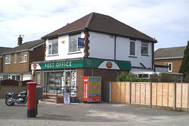 Post Office on Preston New Road