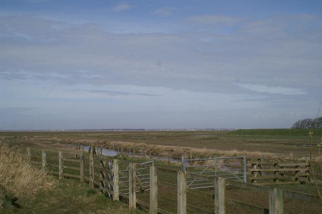 Across the Ribble Estuary