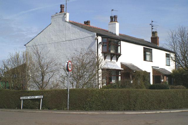 Corner cottages