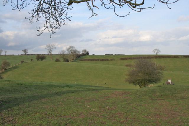 Farmland near Ragdale, Leicestershire
