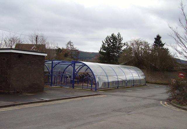 Hi-tec bike shed.