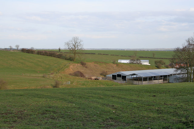 Farm buildings at Ragdale