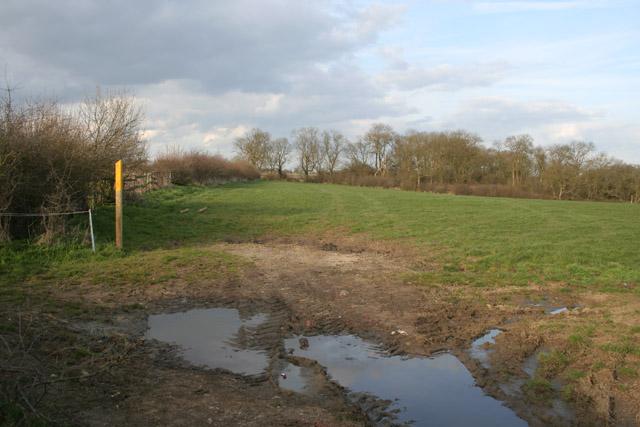 Footpath near Shoby