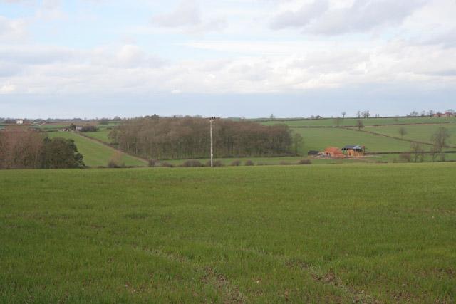 Farmland near Walton-in-the-Wolds