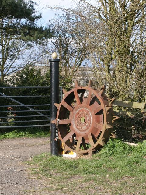 Gateway on Six Hills Road near Walton-on-the-Wolds