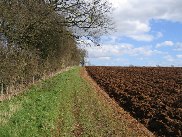 Footpath along the boundary