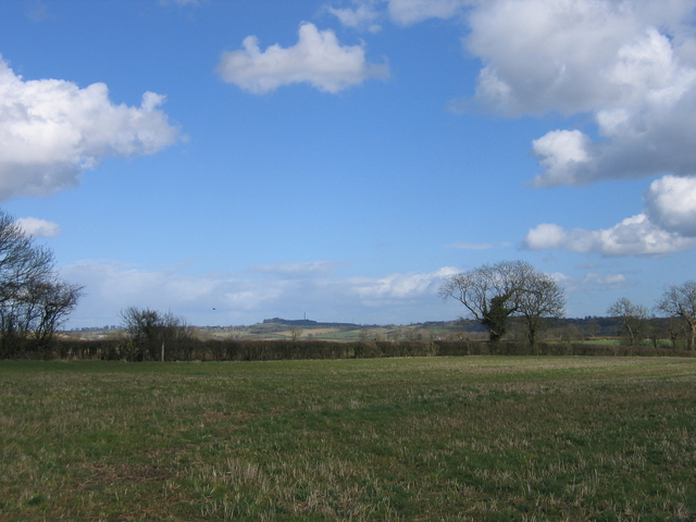 View towards Catesby