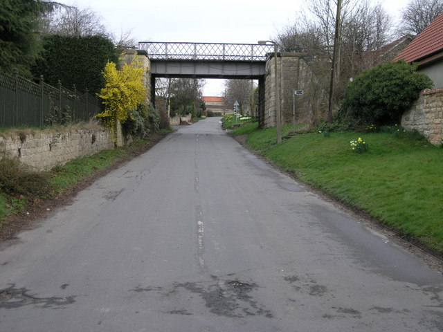 Railway and Footpath
