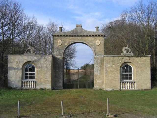 Langley Hall gatehouse