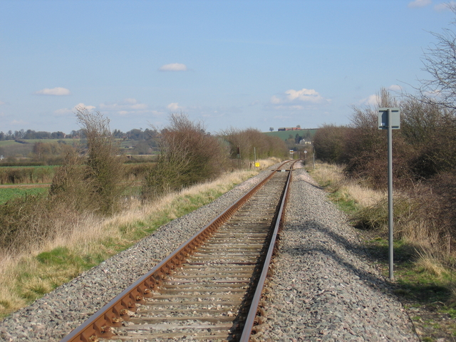 S&MJR towards Fenny Compton