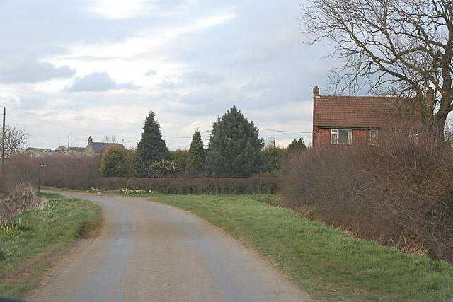 Gibson's Lane near Old Dalby