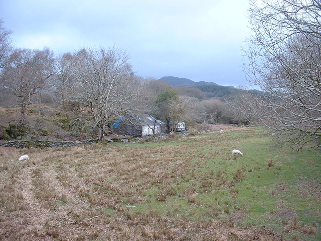 Talyrni Cottage outbuildings,  near Pont Talyrni