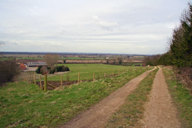 Bridleway above Claxby House Farm