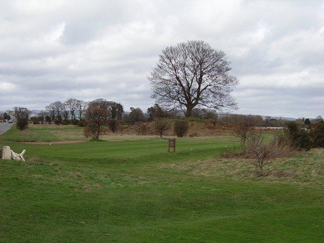 Tumulus, Ludlow Golf Club.
