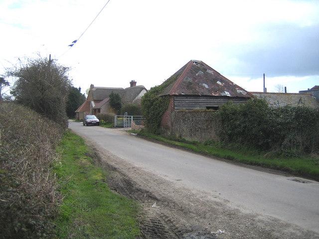 Hayling Island: Northwood Lane, Stoke